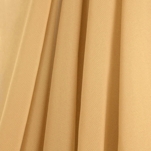 Gold Chiffon Drapes Panels for Wedding Events & Decor- Backdrop Draping Curtains
