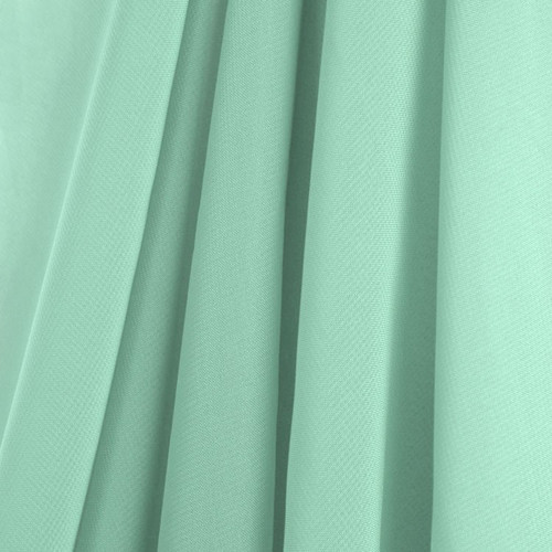 Mint Green Chiffon Drapes Panels for Wedding Events & Decor- Backdrop Draping Curtains