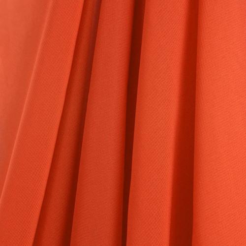 Orange Chiffon Drapes Panels for Wedding Events & Decor- Backdrop Draping Curtains