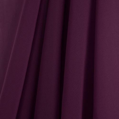 Plum Chiffon Drapes Panels for Wedding Events & Decor- Backdrop Draping Curtains