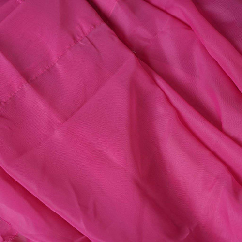 "120"" Wide (10ft Wide) X 120 Yards Roll - Sheer Voile Chiffon Fabric - Perfect for Draping Panels and Masking for Weddings, Parties & Events, Tent Draping - Fuchsia"