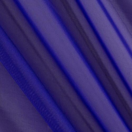 "120"" Wide (10ft Wide) X 120 Yards Roll - Sheer Voile Chiffon Fabric - Perfect for Draping Panels and Masking for Weddings, Parties & Events, Tent Draping - Purple"