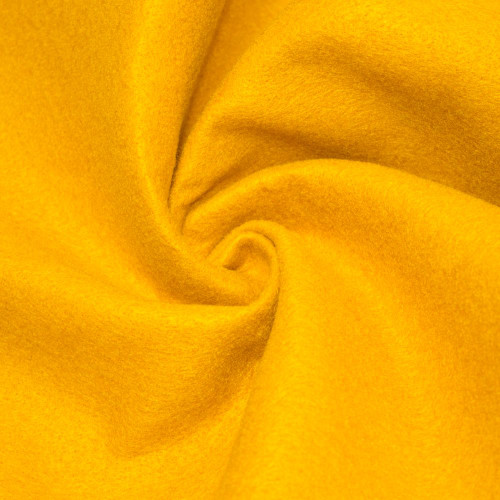 "72-Inch Wide 1/16"" Thick Acrylic Felt Fabric - Bright Gold"