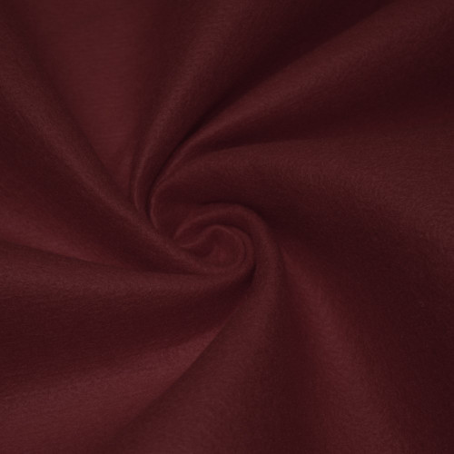 "72-Inch Wide 1/16"" Thick Acrylic Felt Fabric - Burgundy"