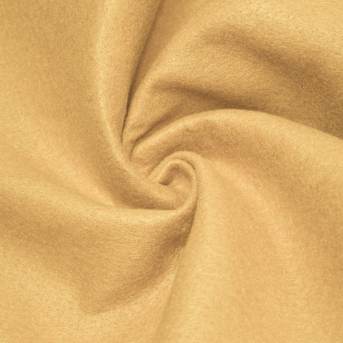 "72-Inch Wide 1/16"" Thick Acrylic Felt Fabric - Champagne"