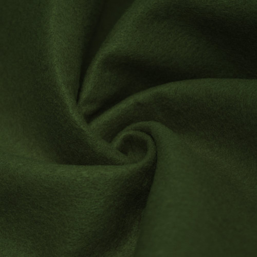 "72-Inch Wide 1/16"" Thick Acrylic Felt Fabric - Dark Hunter Green"