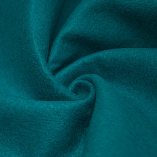 "72-Inch Wide 1/16"" Thick Acrylic Felt Fabric - Dark Turquoise"