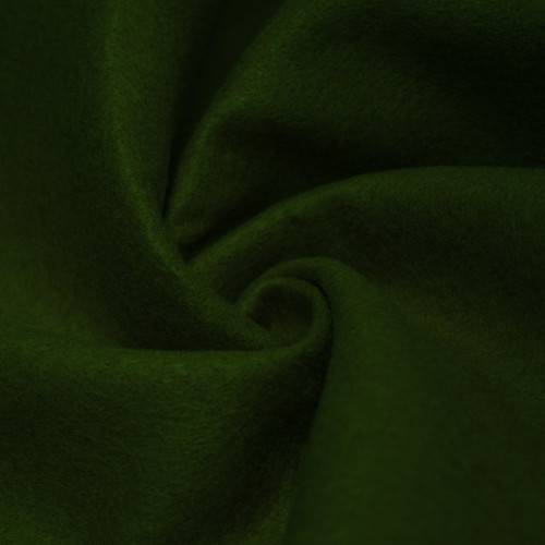 "72-Inch Wide 1/16"" Thick Acrylic Felt Fabric - Deep Hunter Green"
