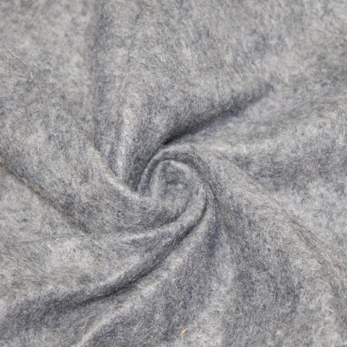 "72-Inch Wide 1/16"" Thick Acrylic Felt Fabric - Healther Gray"