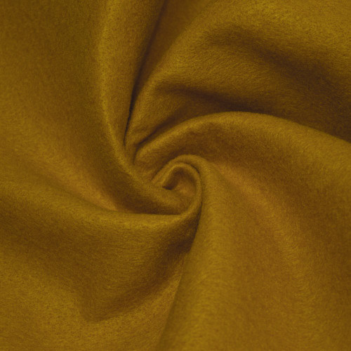 "72-Inch Wide 1/16"" Thick Acrylic Felt Fabric - Mustard"
