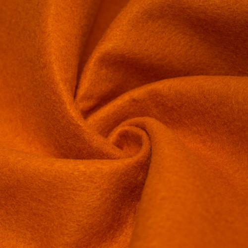 "72-Inch Wide 1/16"" Thick Acrylic Felt Fabric - Orange"