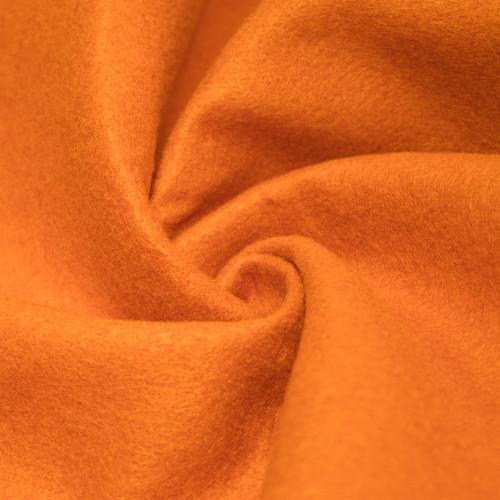"72-Inch Wide 1/16"" Thick Acrylic Felt Fabric - Tangerine"