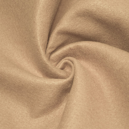 """72-Inch Wide 1/16"""" Thick Acrylic Felt Fabric - Taupe"""