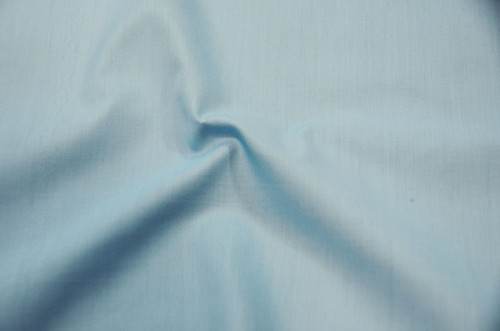 "60"" Baby Blue Premium Polyester Cotton Blend Broadcloth"