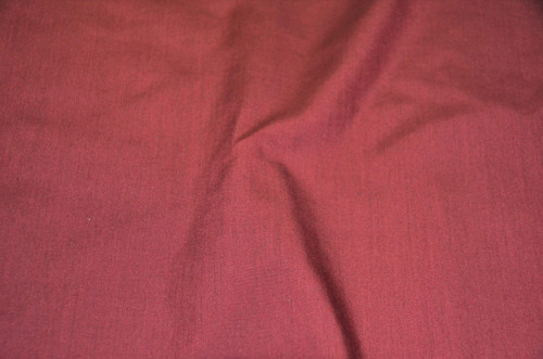 "60"" Burgundy Premium Polyester Cotton Blend Broadcloth"