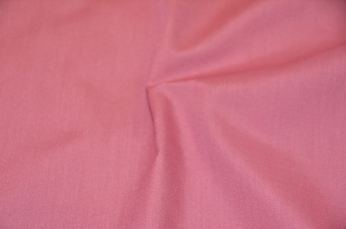"60"" Candy Pink Premium Polyester Cotton Blend Broadcloth"
