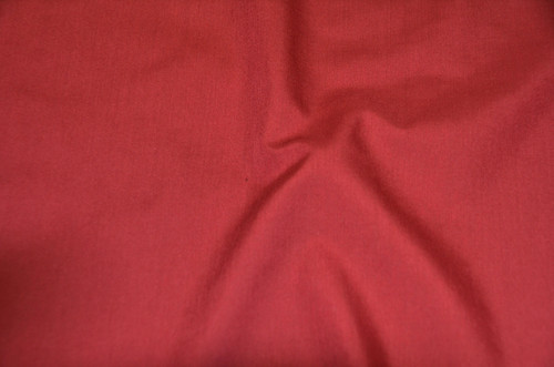 "60"" Cran Berry Premium Polyester Cotton Blend Broadcloth"