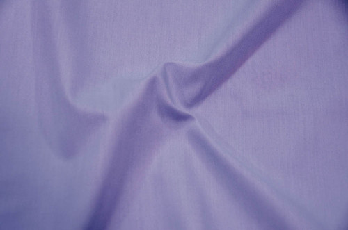 "60"" Dark Lilac Premium Polyester Cotton Blend Broadcloth"