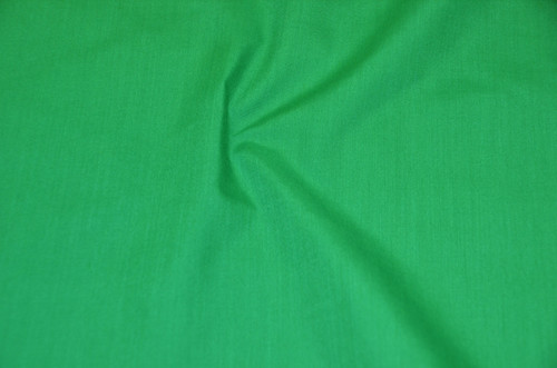 "60"" Flag Green Premium Polyester Cotton Blend Broadcloth"