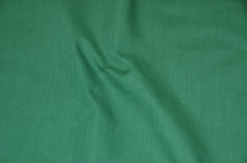 "60"" Hunter Green Premium Polyester Cotton Blend Broadcloth"