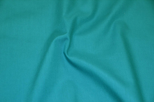"60"" Jade Premium Polyester Cotton Blend Broadcloth"