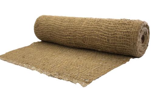 "48"" Wide Jute Erosion Control, Soil Saver Mesh Blanket - BTY"