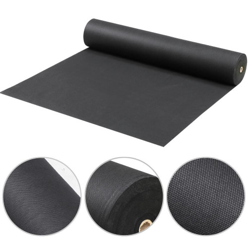 3 FT X 150 FT Premium Thick Weed Barrier Landscape Fabric - Weed Blocker - Garden Fabric Roll - Commercial Weed Control Fabric with UV Protection