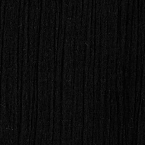 Black Cotton Island Breeze Gauze Fabric