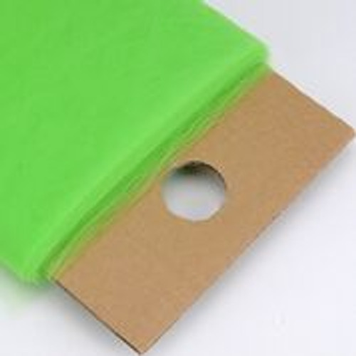 Apple Green - Nylon Tulle Fabric - 40 Yards By Roll