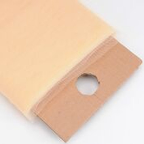 Beige - Nylon Tulle Fabric - 40 Yards By Roll