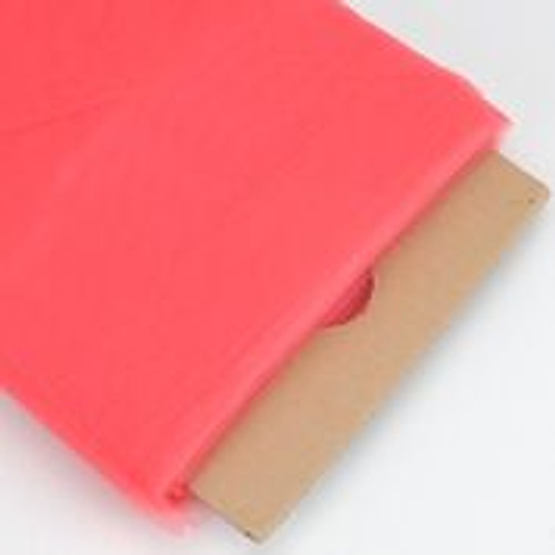 Coral - Nylon Tulle Fabric - 40 Yards By Roll