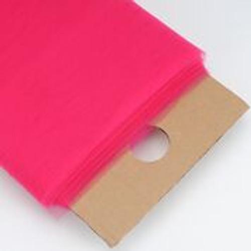 Fuchsia - Nylon Tulle Fabric - 40 Yards By Roll