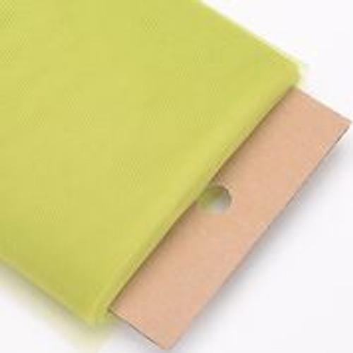 Kiwi - Nylon Tulle Fabric - 40 Yards By Roll
