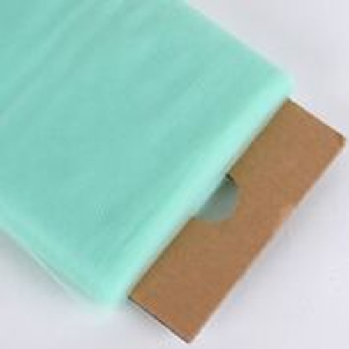 Mint - Nylon Tulle Fabric - 40 Yards By Roll