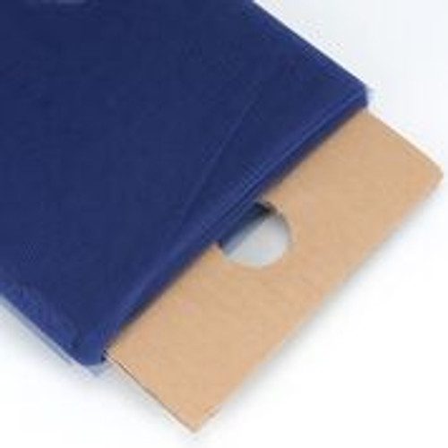 Navy Blue - Nylon Tulle Fabric - 40 Yards By Roll