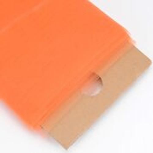 Orange - Nylon Tulle Fabric - 40 Yards By Roll