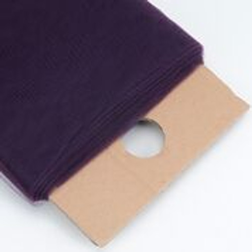 Plum - Nylon Tulle Fabric - 40 Yards By Roll