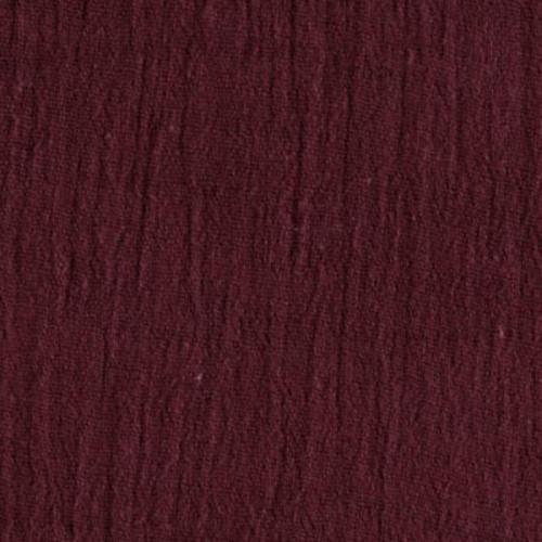 Burgundy - Cotton Island Breeze Gauze Fabric