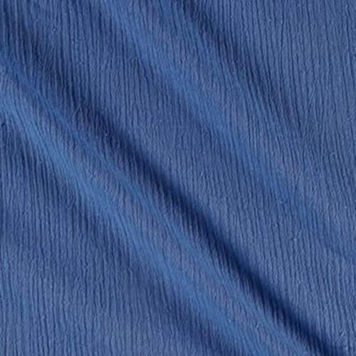 Coppen Blue - Cotton Island Breeze Gauze Fabric
