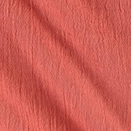Coral - Cotton Island Breeze Gauze Fabric