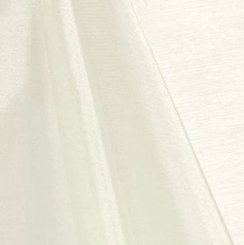 Ivory - Mirror Crystal Organza Fabric - 100 Yards Roll