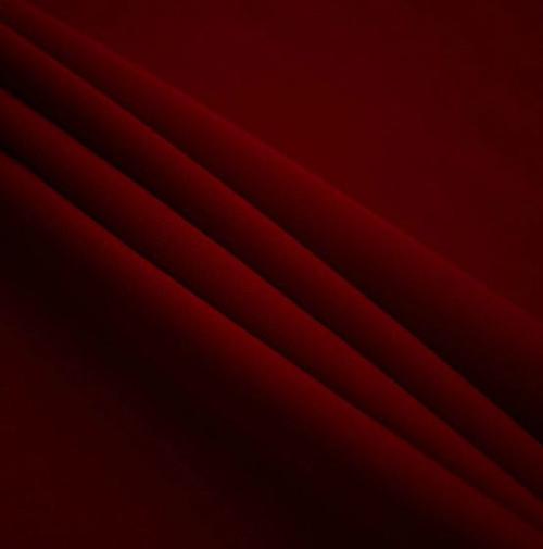 "Burgundy - Polyester Poplin Fabric 60"" Wide"
