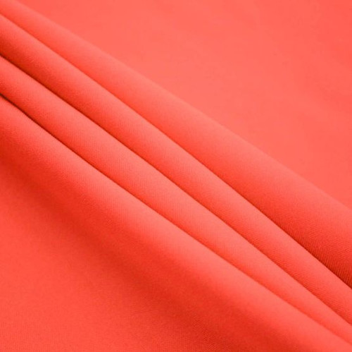 "Coral - Polyester Poplin Fabric 60"" Wide"