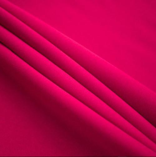 "Fuchsia - Polyester Poplin Fabric 60"" Wide"