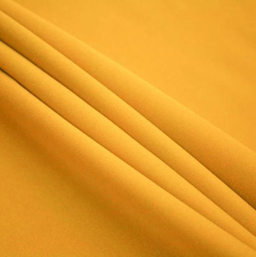 "Gold - Polyester Poplin Fabric 60"" Wide"