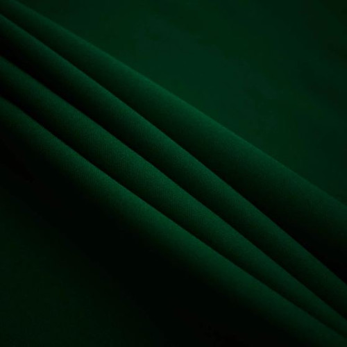 "Hunter Green - Polyester Poplin Fabric 60"" Wide"