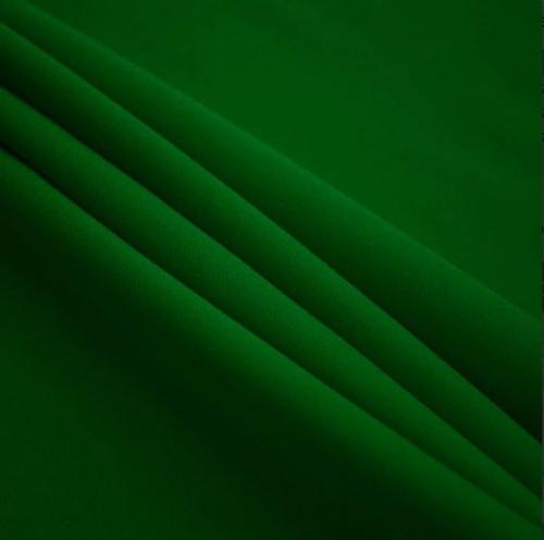 "Kelly Green - Polyester Poplin Fabric 60"" Wide"