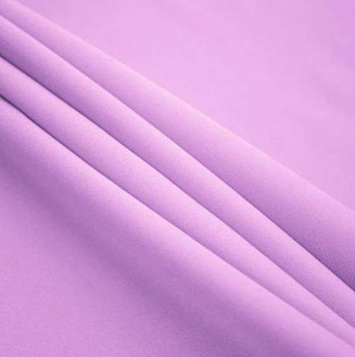 "lilac - Polyester Poplin Fabric 60"" Wide"