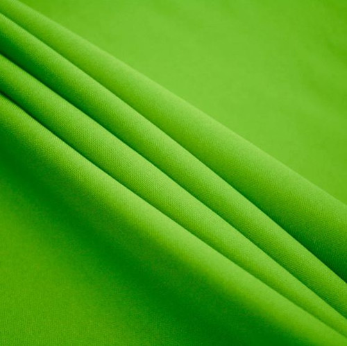 "Lime - Polyester Poplin Fabric 60"" Wide"