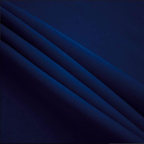 "Navy Blue - Polyester Poplin Fabric 60"" Wide"